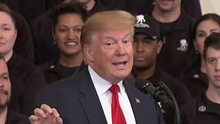 Trump Celebrates Mueller Report Release