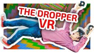 THE DROPPER В ВИРТУАЛЬНОЙ РЕАЛЬНОСТИ - MINECRAFT VR - ЧАСТЬ 1