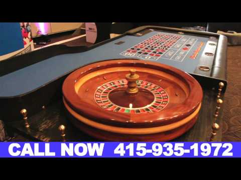 Casino Rentals San Francisco California (415) 935-1972