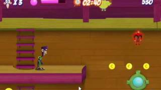 Fanboy and Chum Chum, Arcade Raid level 1.wmv