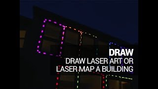 LaserDock Draw and Projection Mapping