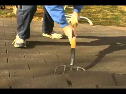 How To Roofing Removing Shingles Youtube