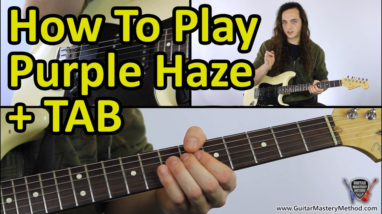 how to play purple haze jimi hendrix guitar lesson tab youtube. Black Bedroom Furniture Sets. Home Design Ideas