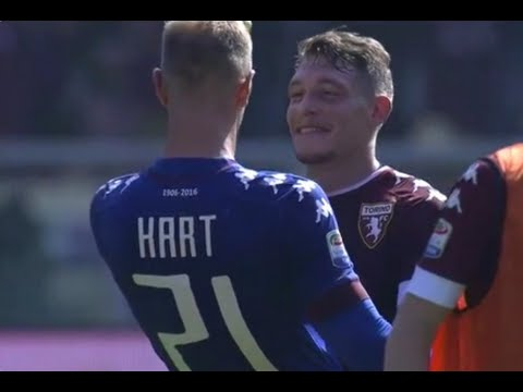 Joe Hart vs Roma 25/9/2016