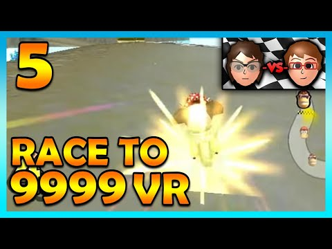 Mario Kart Wii - INVISIBLE WALLS?! - Race to 9999 VR   Ep. 5