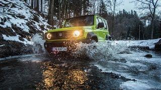 2019 Suzuki Jimny 1.5 VVT AllGrip Pro / testy w terenie, jazda po błocie, śniegu i szutrach