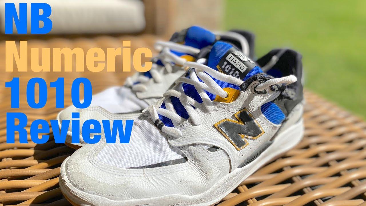 Wear Review - New Balance Numeric #1010 Tiago Lemos Pro Model Skateboard Shoe