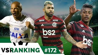 OS 10 MELHORES JOGADORES DO BRASILEIRÃO 2019 - VSRANKING #172