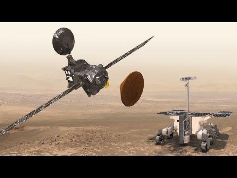 Марс наш? На красную планету приземляется модуль Скиапарелли