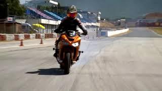 Turkish stunt cengiz coşkun izmir yarıs pisti motosiklet dublör drift