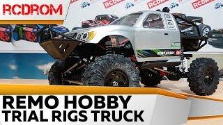 Покоритель бездорожья Remo Hobby Trial Rigs Truck. Распаковка, обзор.