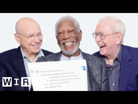 Morgan Freeman, Michael Caine, and Alan Arkin Answer the Web's Most Searched Questions | WIRED