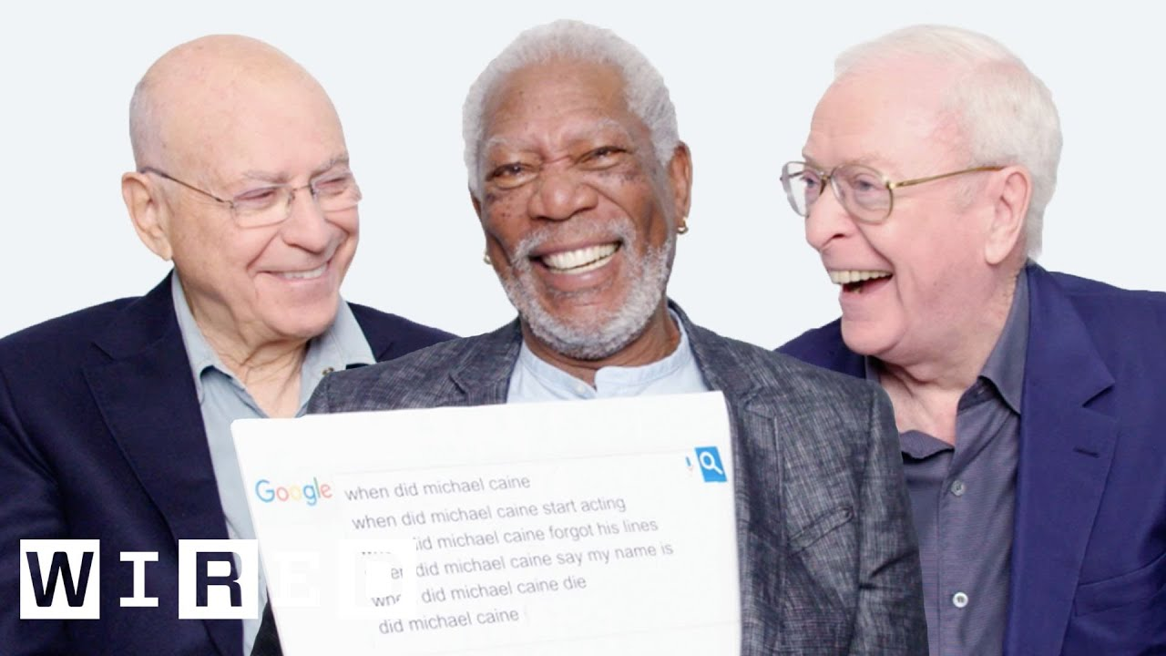 Download Morgan Freeman, Michael Caine, and Alan Arkin Answer the Web's Most Searched Questions | WIRED