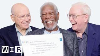 Download Morgan Freeman, Michael Caine, and Alan Arkin Answer the Web's Most Searched Questions | WIRED Mp3 and Videos