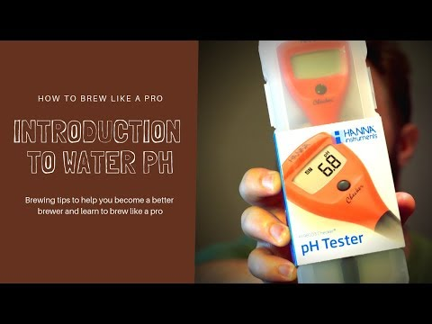Brew Like A Pro! - Introduction To Water PH
