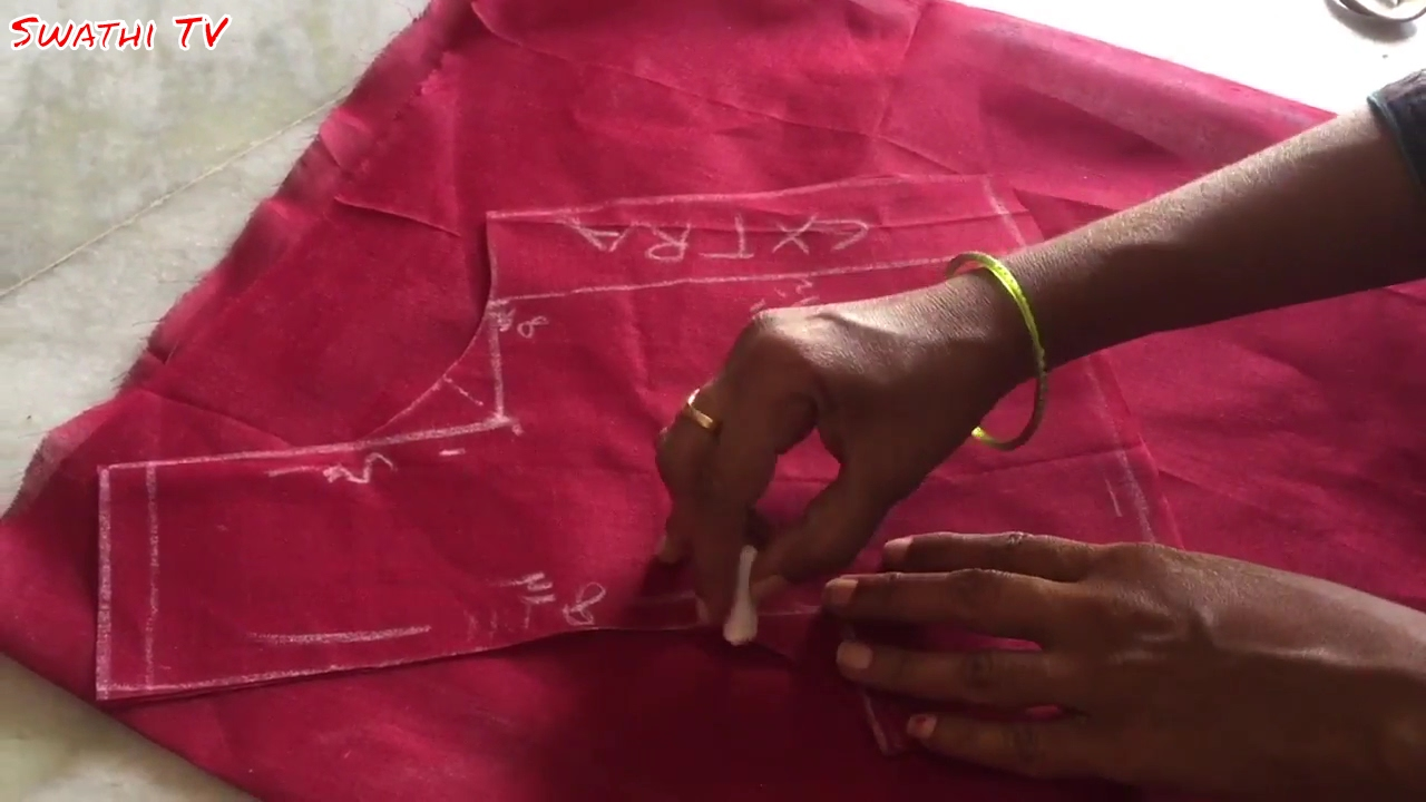 Blouse cutting and stitching tutorial for beginners | How ...