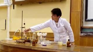 Демонстрационный эксперимент по органической химии, ОНУ, 2017