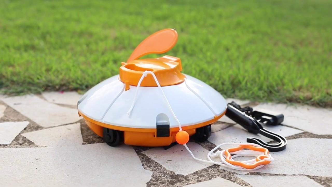 robot piscine bestway frisbee presentation utilisation