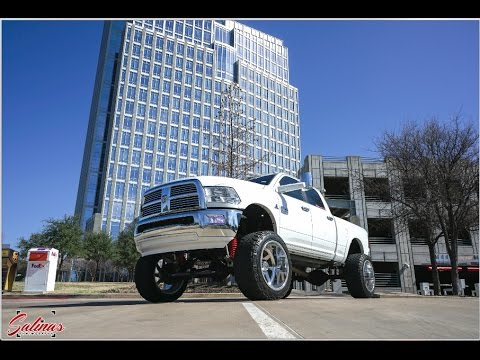 Lifted RAM built by Bare Knuckles Diesel Performance curb checks its Forces!