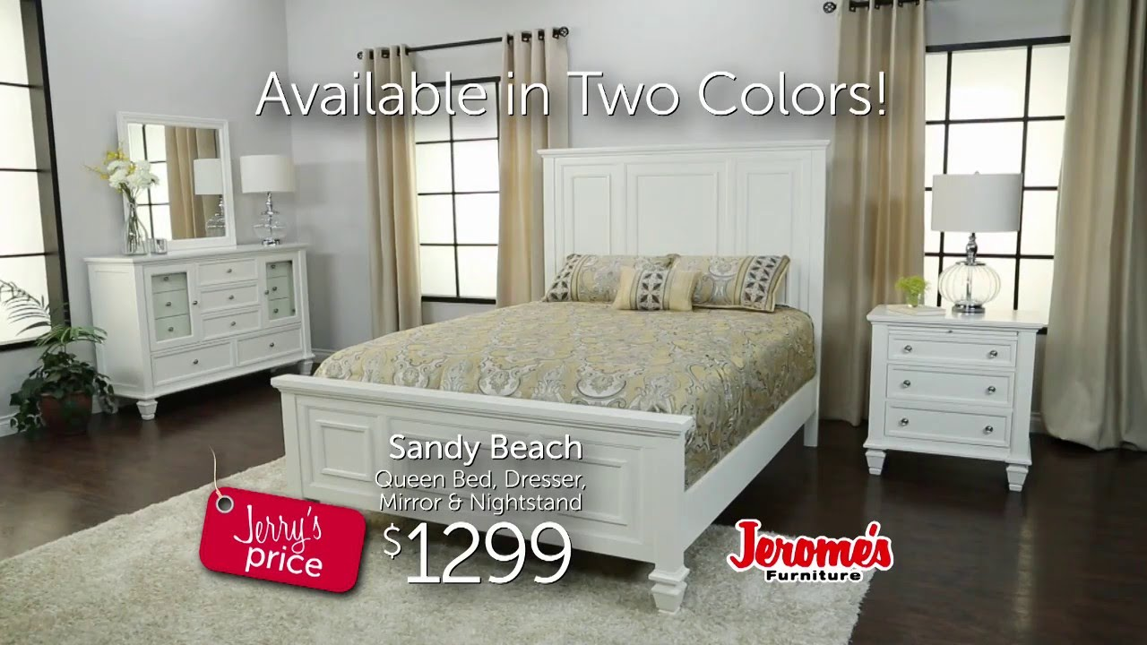 Jeromeu0027s Furniture Sandy Beach Bedroom Collection   YouTube