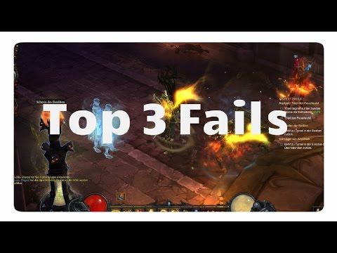 Diablo3: Top 3 Fails (Da Dreht Jessi Am Rad)