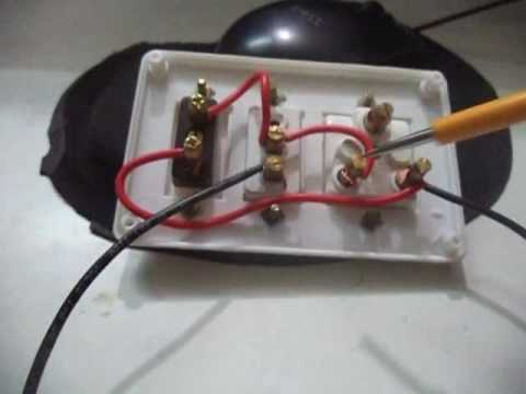 7 prong wiring diagram 1996 honda civic radio how to make a extension board one socket and switch two pin - youtube