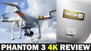 DJI Phantom 3 4K Full Review - Best 4k Drone for under $800?(, 2016-03-09T18:30:01.000Z)