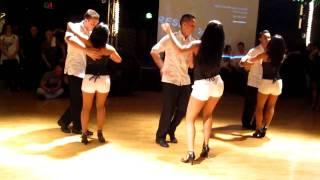 Видео: SH Pro Team Bachata Llorar Lloviendo Toby Love