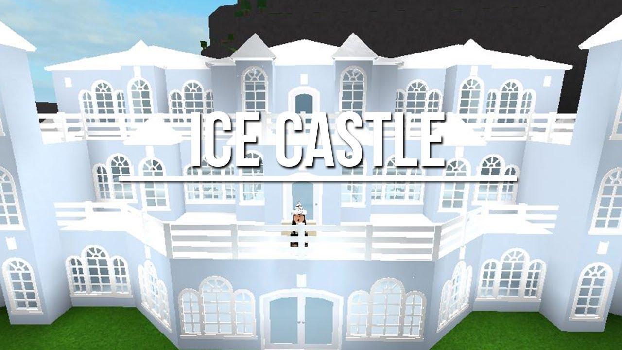 Roblox Welcome To Bloxburg Ice Castle - roblox bloxburg castle