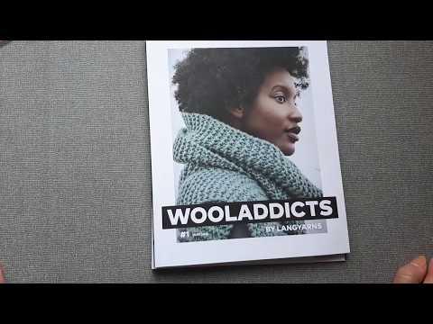 Обзор журнала по вязанию  Wooladdicts