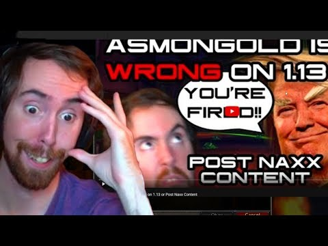 Asmongold Reacts To A Critic About The Future Of Classic WoW