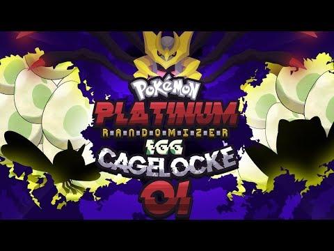 SEND US EGGS! Pokemon Platinum Randomizer EggLocke CageLocke EP01 w/ MunchingOrange and aDrive