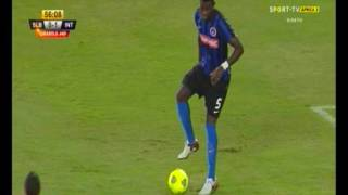 GHISLAIN  MVOM  in defensive position  ( interclub luanda player) 2017 Video