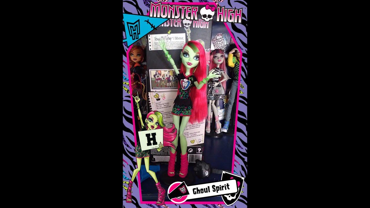 Monster High Ghoul Spirit Venus Mcflytrap Turkce Tan T M