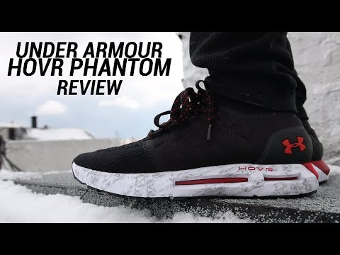 cheap for discount 95017 a6b3f UNDER ARMOUR HOVR PHANTOM REVIEW - YouTube