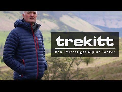 Inside Look: Rab Microlight Alpine Jacket YouTube