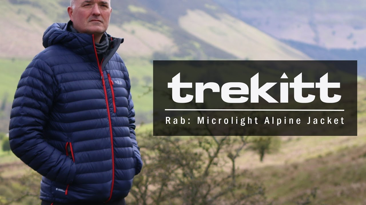 Inside Look  Rab Microlight Alpine Jacket - YouTube 375e1b08444c