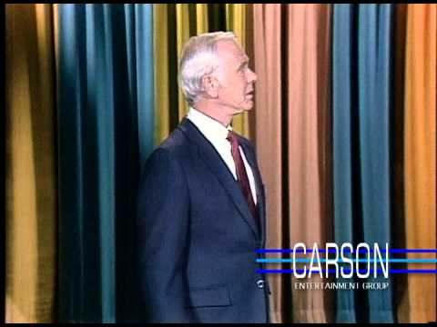 Johnny Carson is Corrected by Doc Severinsen during the monologue ...