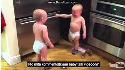 Vauvojen keskustelu