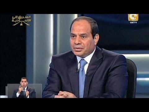 Egypt : Sisi says the Muslim Brotherhood is 'finished'