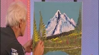 Dom peint un paysage en 3 minutes chrono