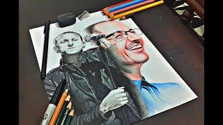Drawing Chester Bennington (Linkin park) / dibujando a Chester Bennington.