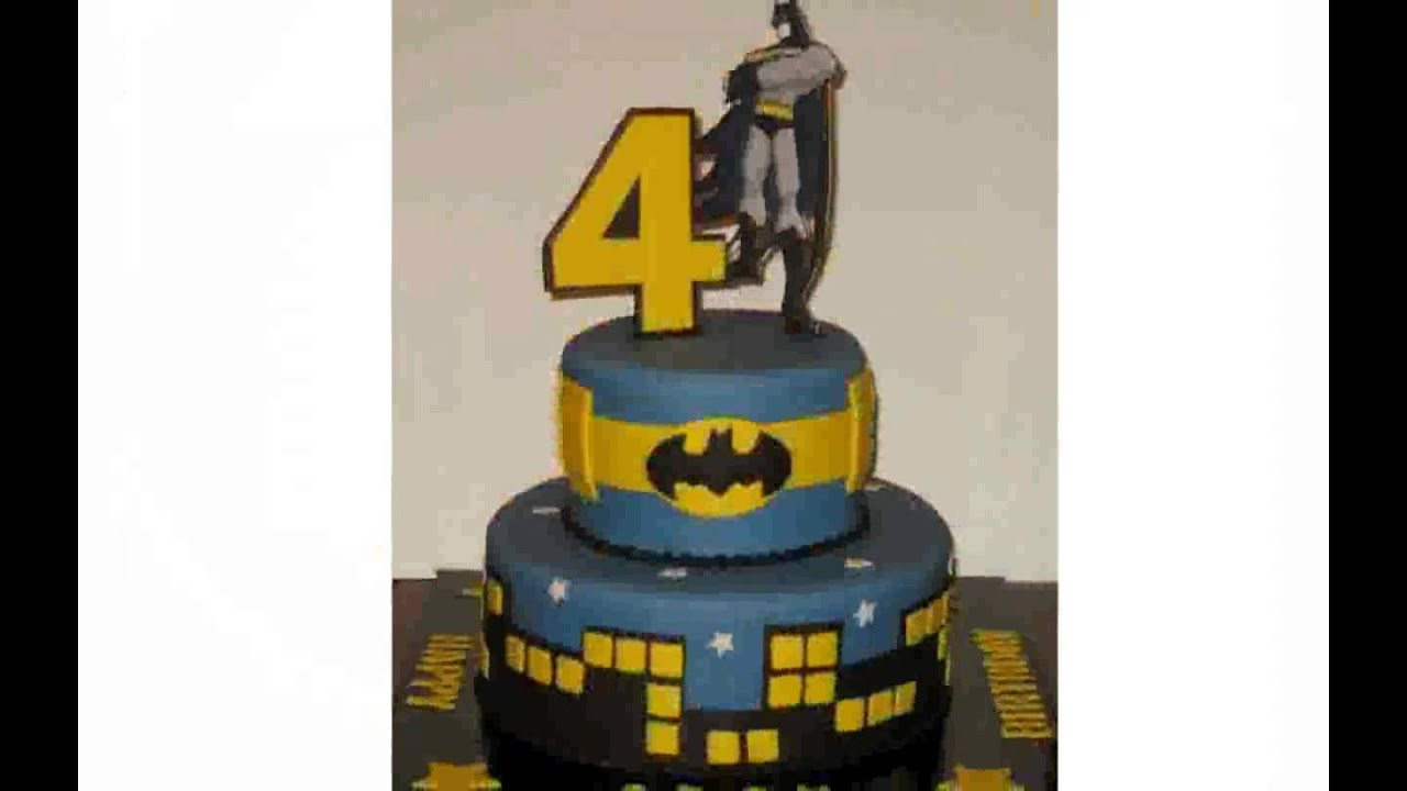 Batman Cake Decorations Youtube