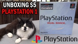 Unboxing $5 Second-Hand PlayStation 1