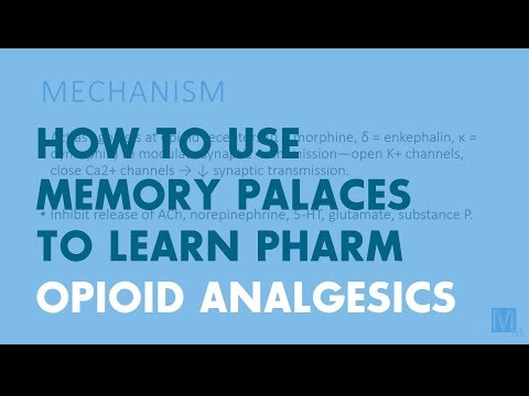 Using Memory Techniques to Learn Pharmacology: Opioid Analgesics