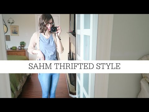 What I Wore #4 | Stay at Home Mom Thrifted Style