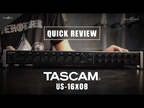 Tascam US-16x08 Usb Audio Interface Review [INDONESIA]