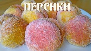 Персики Печенье Персики Пирожное Персики
