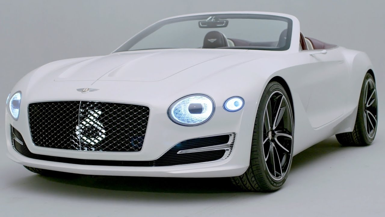 Bentley Enter The Electric Vehicle Market With Their Luxury Exp 12