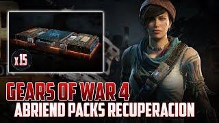 Gears of War 4 | Abriendo 15 Packs | ¿Qué es una Campiña?